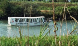 Gita in barca sul fiume